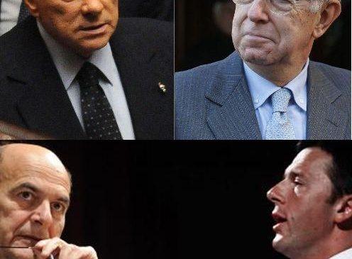 Gli sconfitti: Berlusconi e Bersani