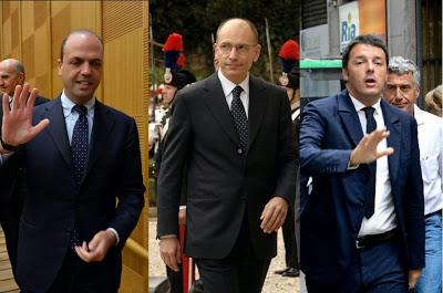 Letta, Renzi e il panegirico sui quarantenni